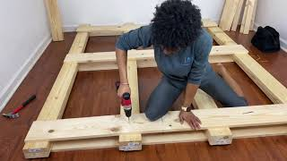 DIY: Making My Own Pallet Bed Frame(from scratch)!