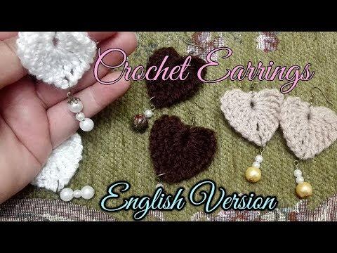 Crochet Earrings (ENGLISH VERSION)