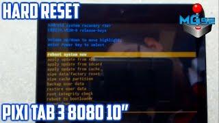 Hard Reset Alcatel One Touch Pixi Tab 3 8080   Desbloquear Patron   Quitar Cuenta Gmail   En Español
