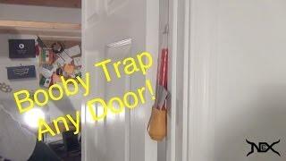 how to set up the greatest door prank ever