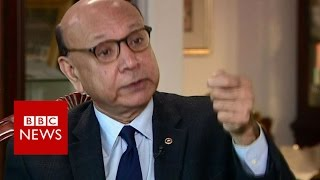 Khizr Khan calls on Donald Trump to condemn hate   BBC News