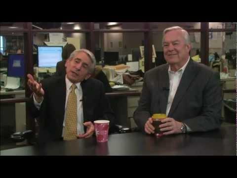 Rick Kogan interviews anchormen Bill Kurtis and Walter Jacobson