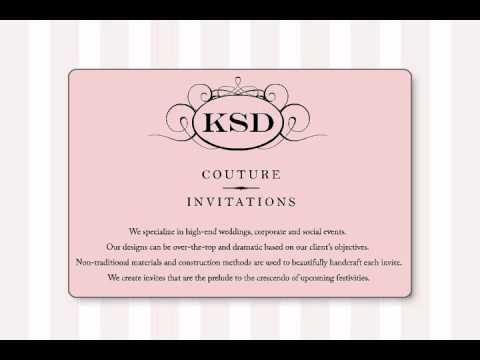 KSD Couture Invitations™