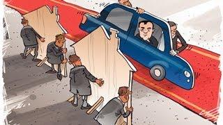 Убогая показуха к приезду Путина