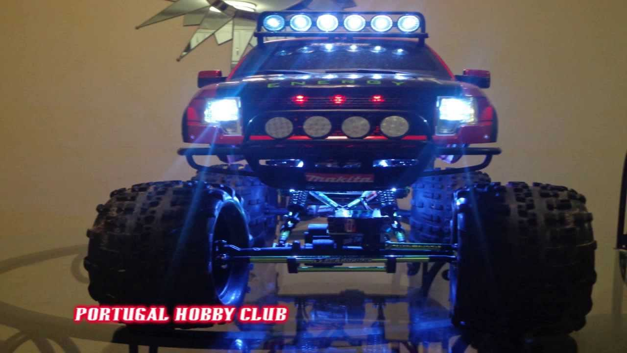 1 8 Mad Torque To 1 5 Monster Truck Rock Crawler Ford