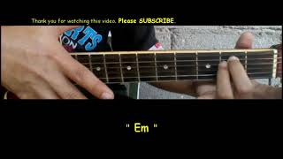 Conor Maynard Waste Your Time Guitar chords Tutorial
