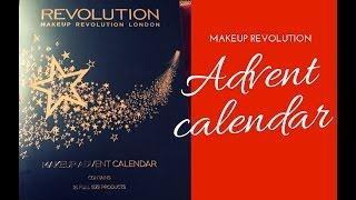 REVOLUTION MAKEUP ADVENT CALENDAR SPOILER 2016