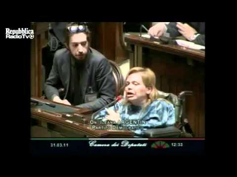 parlamentari pdl e lega insultano la deputata disabile