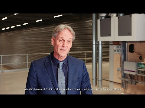 "LG VRF Therma V Case Study_Netherlands ""The Port of Amsterdam Distribution Center"""
