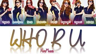 9MUSES (나인뮤지스) - 'WHO R U' Sub Español (Color Coded_HAN_ROM_…