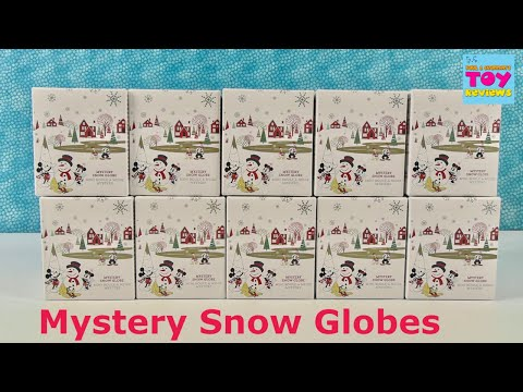 Disney Store Exclusive Mystery Snow Globe Unboxing | PSToyReviews