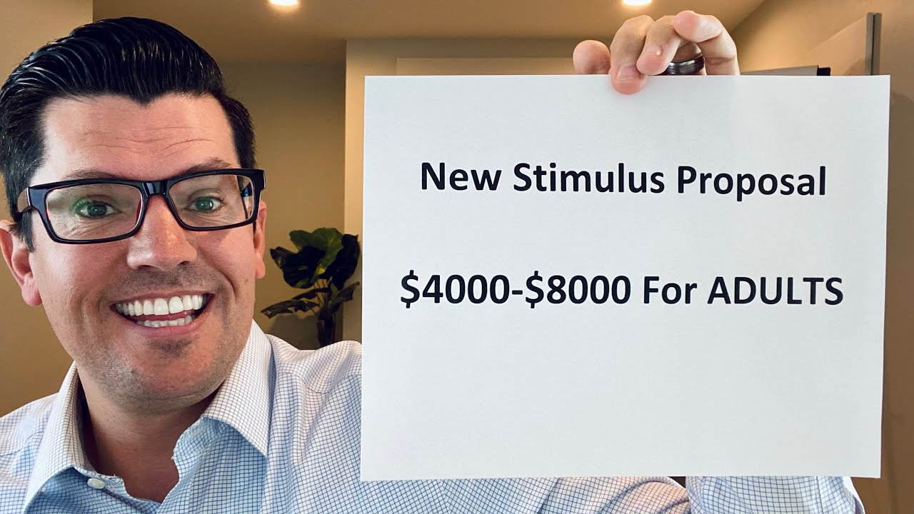 $4000-$8000 ADULT Tax Credit | Stimulus Package Headed By Bernie Sanders | Pelosi's Shocking Comment