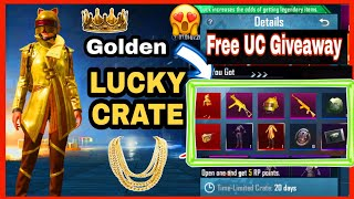 GOLDEN MAJESTY SET | Pubg lucky crate Opening | Golden Set pubg mobile | Golden set pubg mobile |