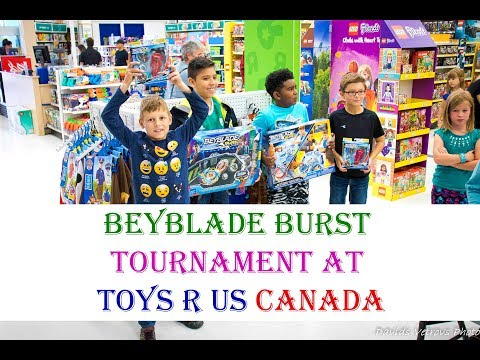 Beyblade Burst Tournament At Toys R Us Canada