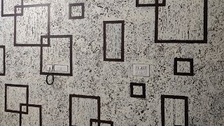 WALL DESIGN IDEAS PUTTY TEXTURE TO DECORATE ROOM WALLS Royale play | interior design |