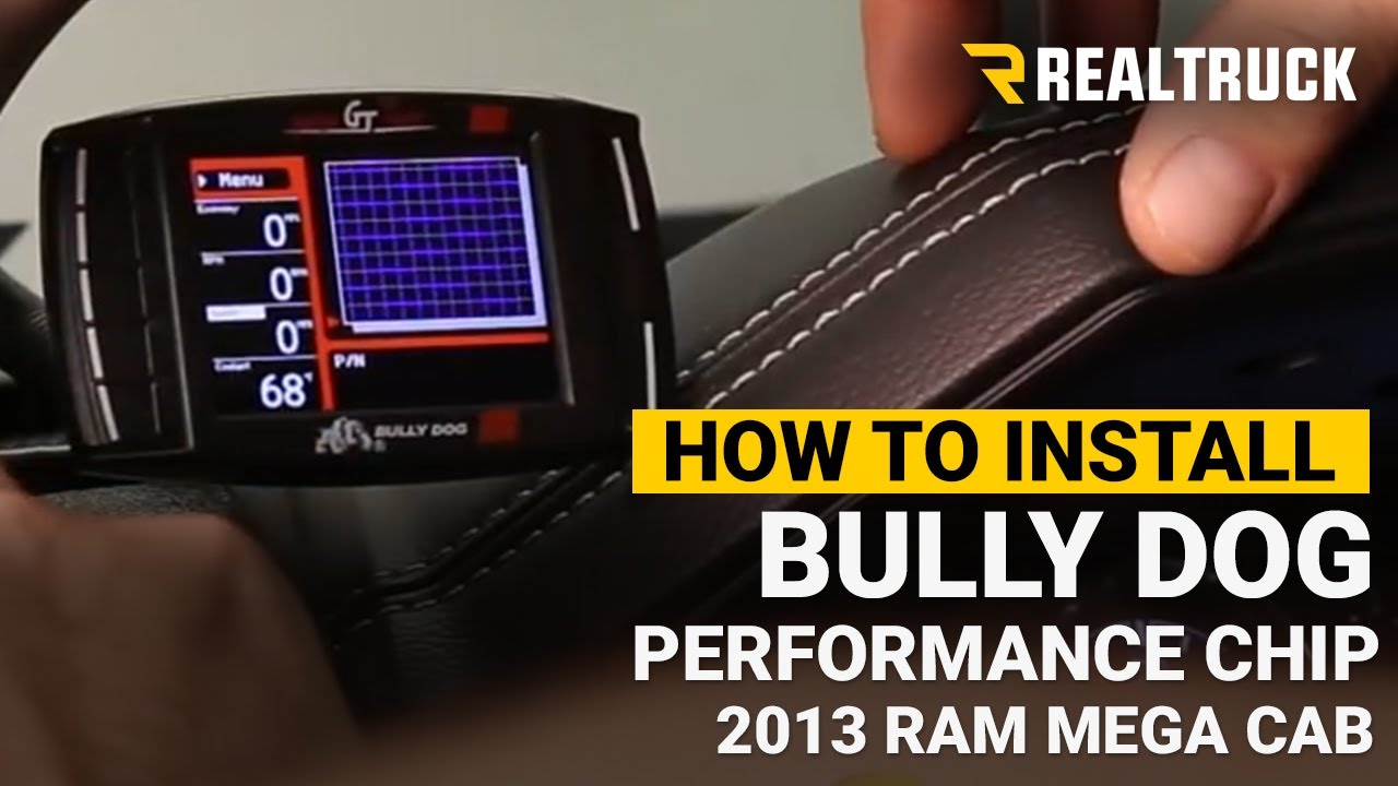 how to install the bully dog performance chip [ 1280 x 720 Pixel ]