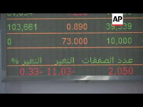 Dubai stocks start week in the red