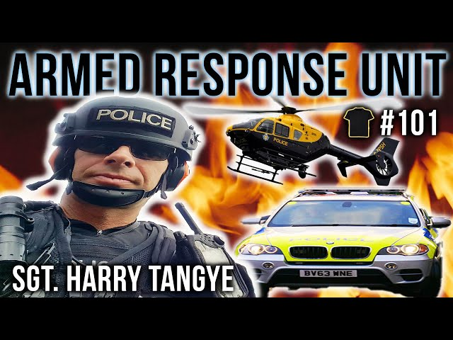 30 Years In The Armed Response Unit | Sgt. Harry Tangye | Fast Pursuit | Close Protection | Podcast