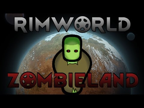 [8] Setting Up Military Grade Turrets | RimWorld B18 Zombieland
