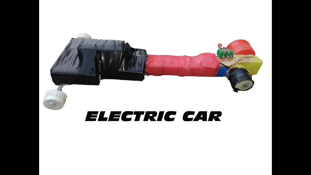 how to make electric car for science project