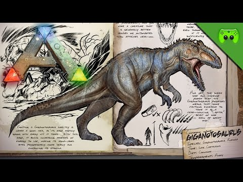 GIGANOTOSAURUS-PAARUNGSZEIT 🎮 Ark: Survival Evolved