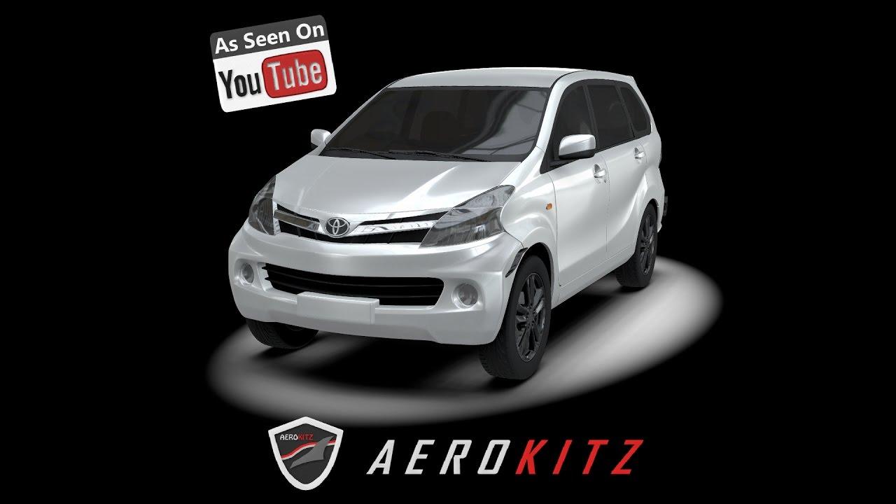 Aerokitz, Aksesoris Modifikasi All New Toyota Avanza