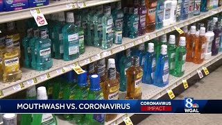 Penn state study: mouthwashes, oral rinses could lessen covid-19 transmission