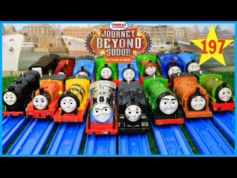 Thumbnail: Thomas and Friends|The Great Race #197 TrackMaster Journey Beyond Sodor |THOMAS & FRIENDS TOY TRAINS