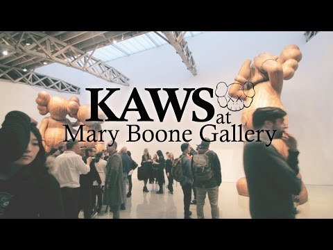 KAWS at Mary Boone Gallery
