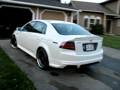 2007 Acura TL Type-S Walkaround (Just a nice looking car) - YouTube