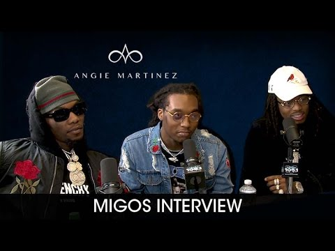 Migos Celebrates Their First #1 Album 'Culture' w/ Angie Martinez