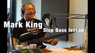 �������� ���� Mark King Slap Bass Lesson - The Essential 4/4 ������