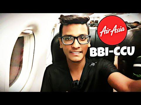 Bhubaneswar To Kolkata || AirAsia India 😉!