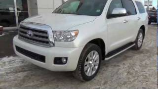 P1-In Depth Walk around 2012 Toyota Sequoia at Kingsway Toyota Edmonton