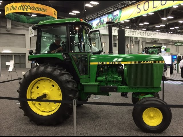 1981 John Deere 4440 Tractor With Only 26 Hours 2 Millionth Tractor Off Waterloo Line Youtube