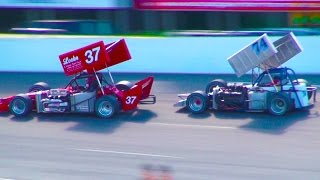 Sunset Speedway ISMA Supermodified 75 Lap (Full Race) 2014