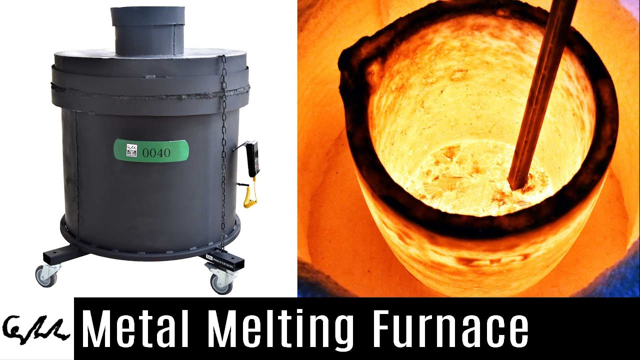 Diy Metal Furnace : Metal melting furnace youtube