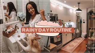 Rainy Day Routine ☔️| MAD CHILL VIBES!!