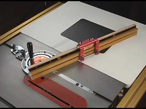 INCRA Miter Gauge   Complete Version   YouTube