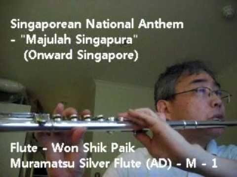 Singaporean National Anthem Majulah Singapura Onward
