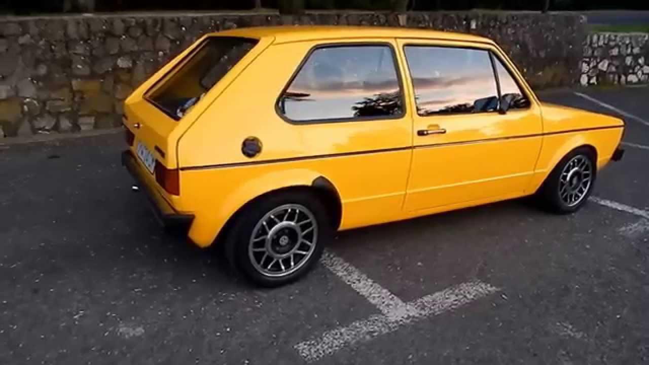 vw golf 1977 diesel youtube. Black Bedroom Furniture Sets. Home Design Ideas