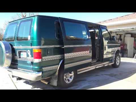 1994 ford e 150 for sale braun conversion youtube 1994 Ford Econoline Van