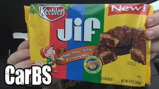 Carbs - Keebler Jif Fudge, Peanut Butter & Crunchy Nuts Cookies