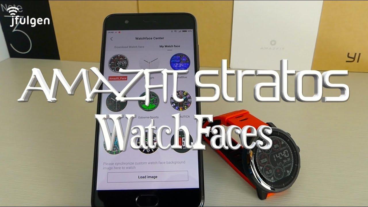 AmazFit Stratos - WatchFaces