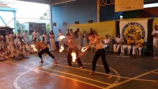 evendo do mestre ligeirinho em montalvania minas gerais - capoeira!!