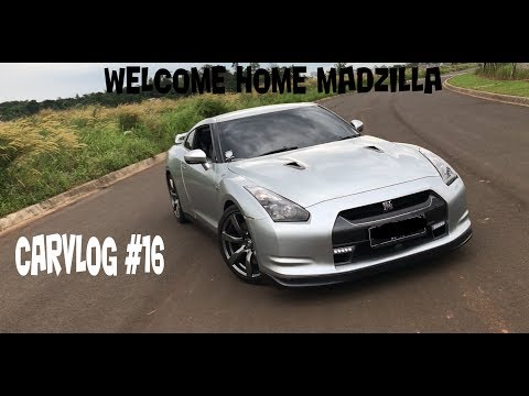 "WELCOME HOME MADZILLA | NISSAN GT-R R35 FIRST IMPRESSION & MINI REVIEW | CARVLOG#16 ""INDONESIA"""