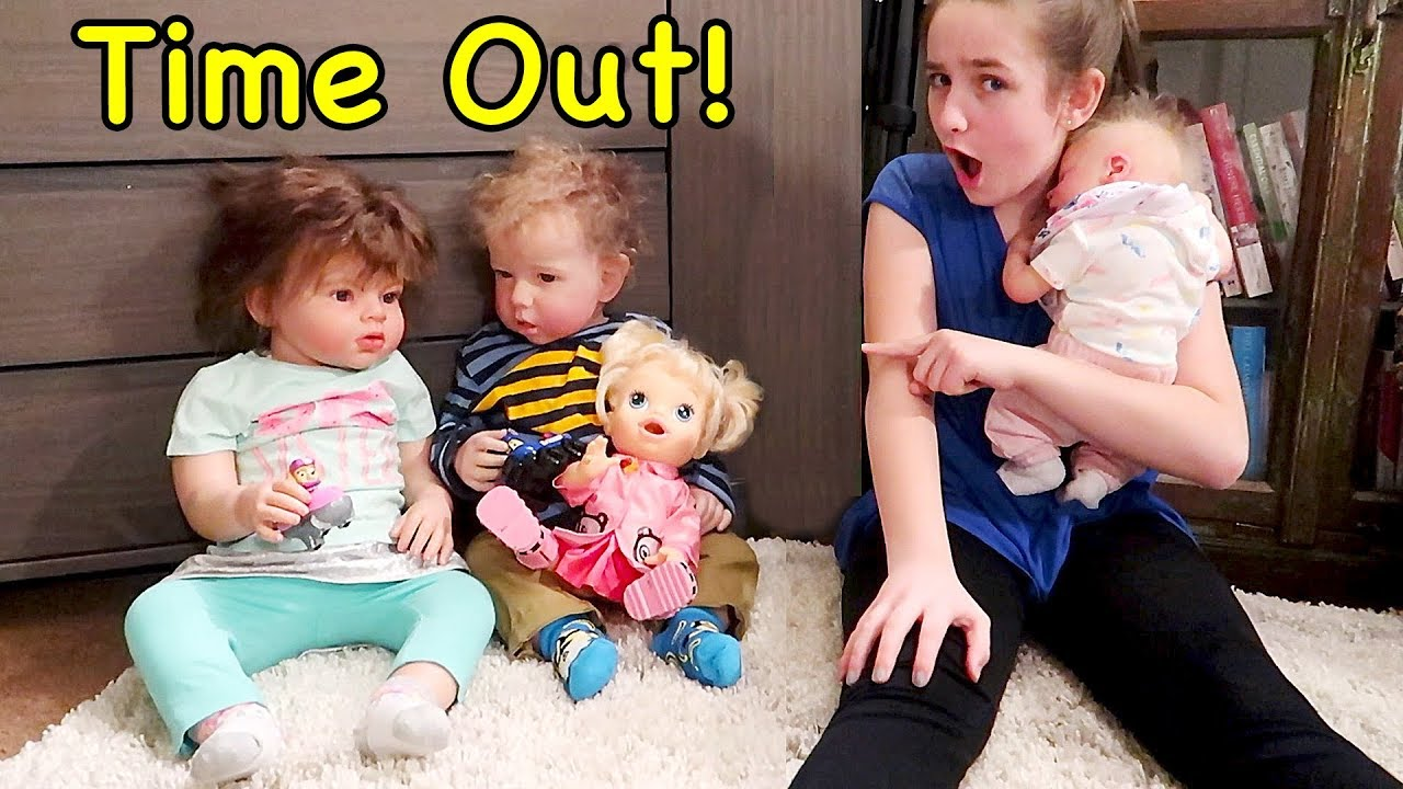 Reborn Baby Doll Morning Routine While Toddler Twin Reborns Fight Over Paw Patrol Youtube