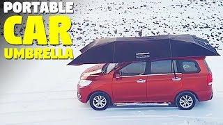 car umbrella | Portable Car Tent | Lanmodo