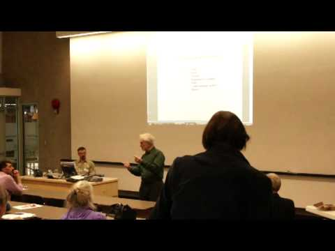 Fluoride Free Lethbridge Guest Speaker -- Dr. James Beck, MD, PhD, May 06, 2013 - PART 1