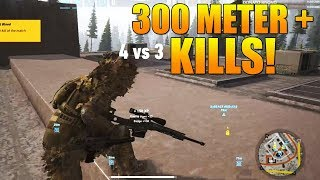7 KILLS OVER 300 meters in ONE ROUND! | Ghost Recon Wildands PVP Highlight